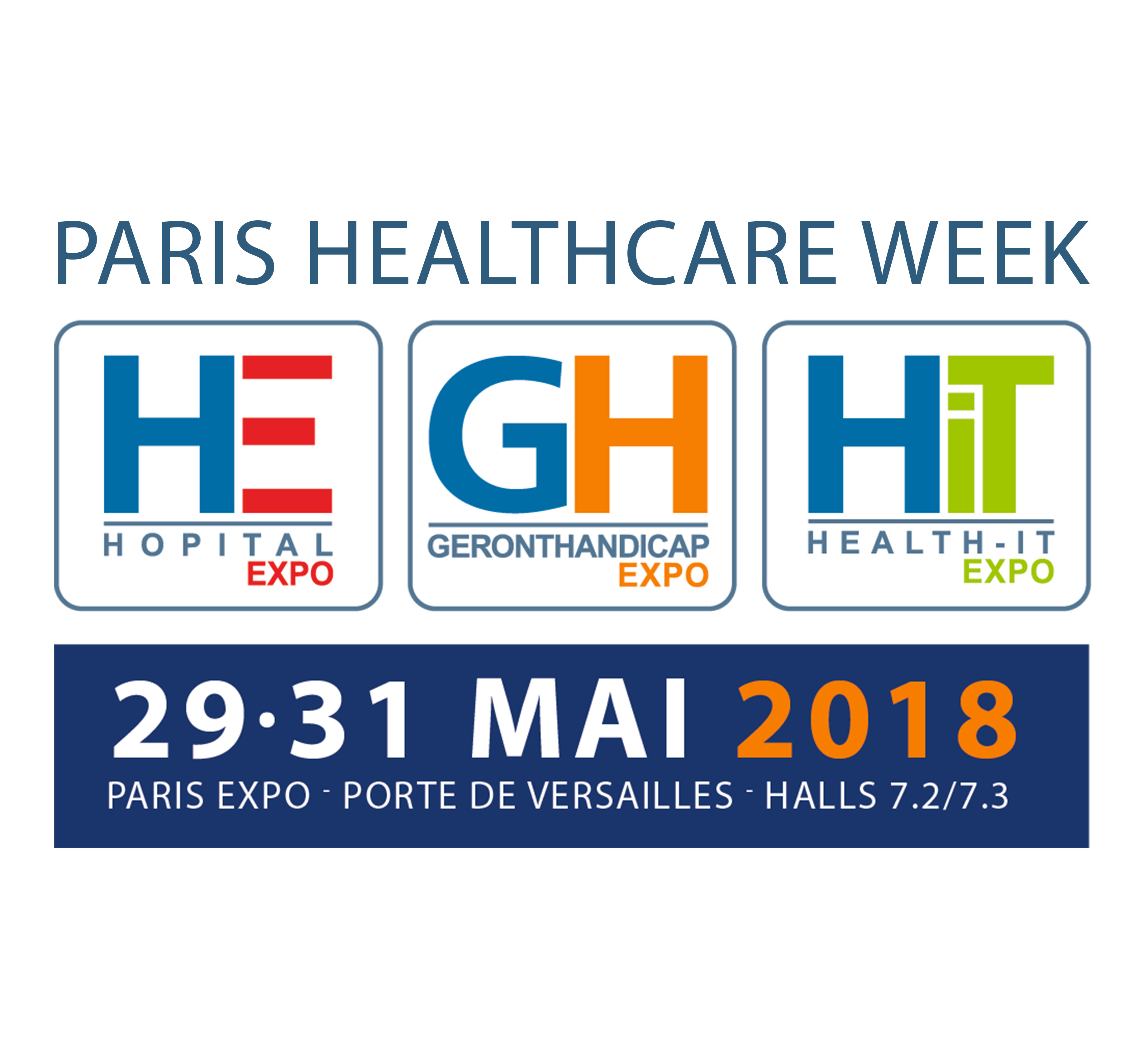 surgical light and medical pendant at Hôpital Expo Trade Fair